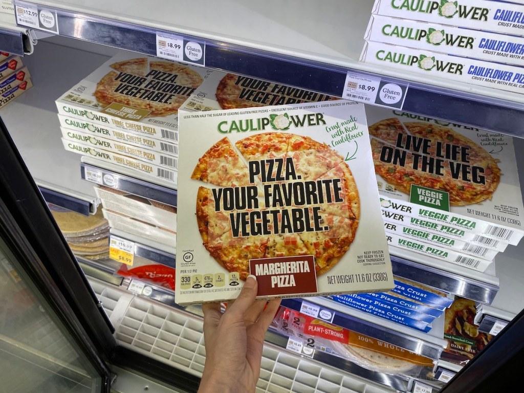 Caulipower Pizza in store cooler