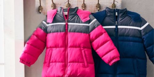 Cherokee Baby & Kids Puffer Coats Only $14.99 at Zulily
