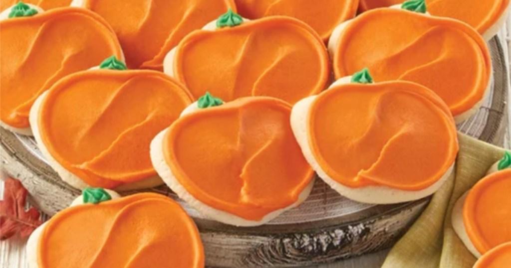 Cheryl's Buttercream Frosted Pumpkin Cookies