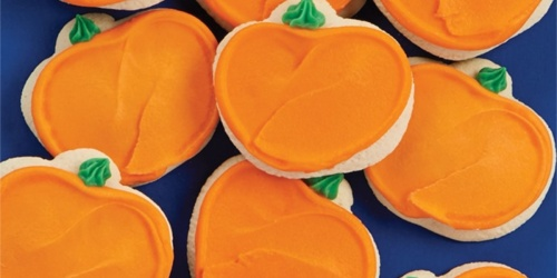 Cheryl's Buttercream Frosted Pumpkin Cookies 24-Count Only $24 Shipped