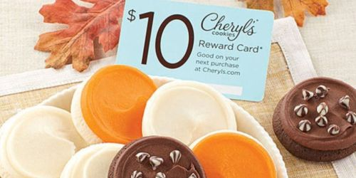 Cheryl's Cookies Fall Snack Size Sampler AND $10 Reward Card Only $9.99 Shipped