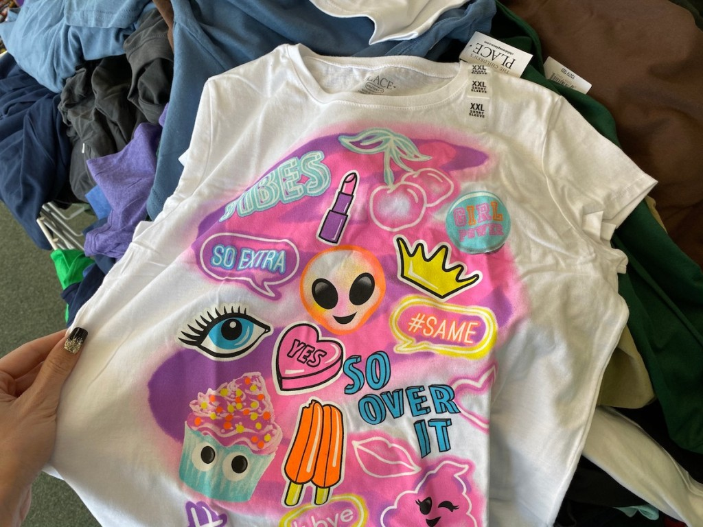 Children's Place Tees at Dollar Tree
