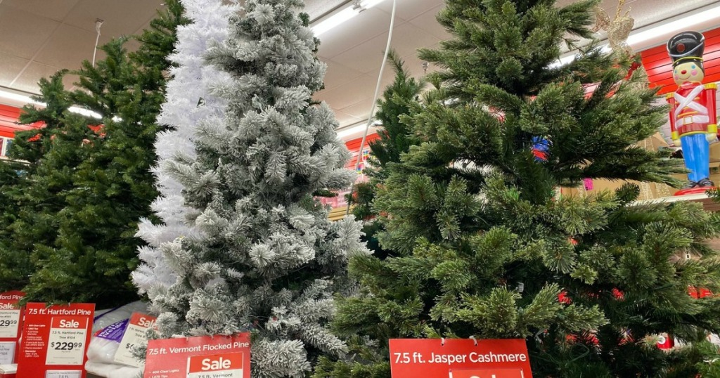 Christmas Trees at Michaels