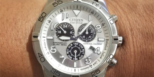 Citizen Men's Eco-Drive Chronograph Watch Just $109.99 Shipped at Amazon (Regularly $187)
