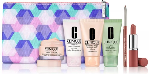 $166 Worth of Clinique Cosmetics Only $29 Shipped at Macy's