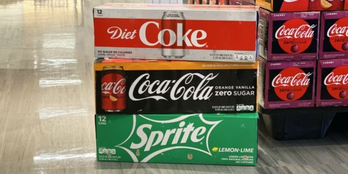 Coca-Cola 12-Packs Just $2.74 Each at Target (In-Store & Online)