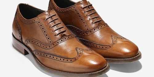 Cole Haan Men's Dress Shoes Only $37.48 Shipped (Regularly $140) + More