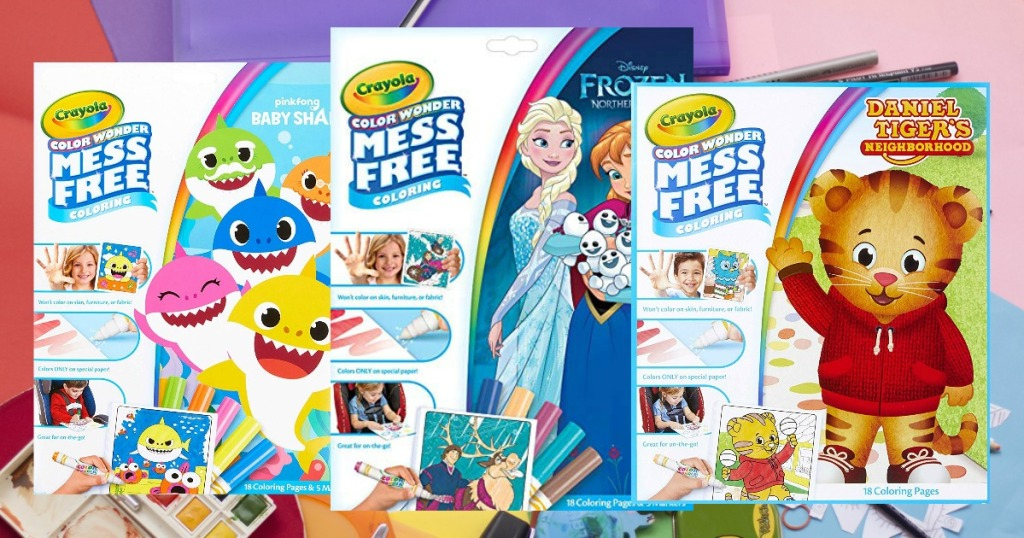 Up to 50% Off Crayola Color Wonder Coloring Pages & Markers ...
