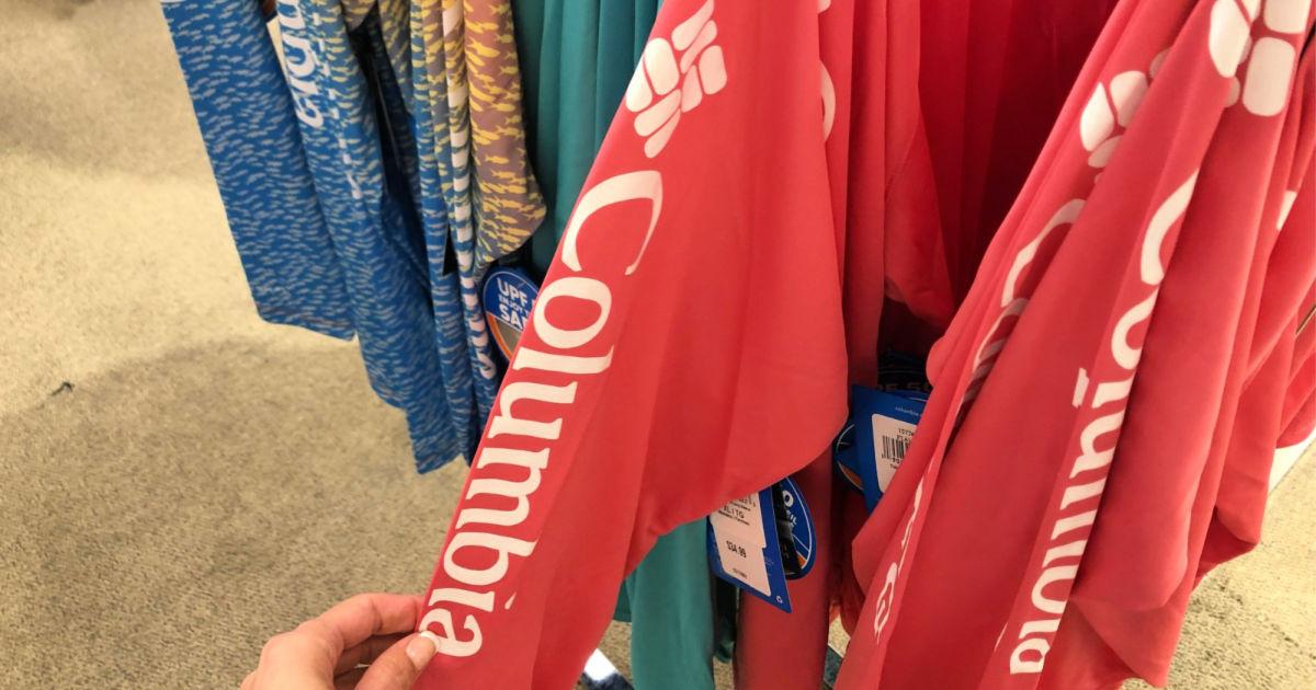 Columbia Logo Long Sleeve Shirt