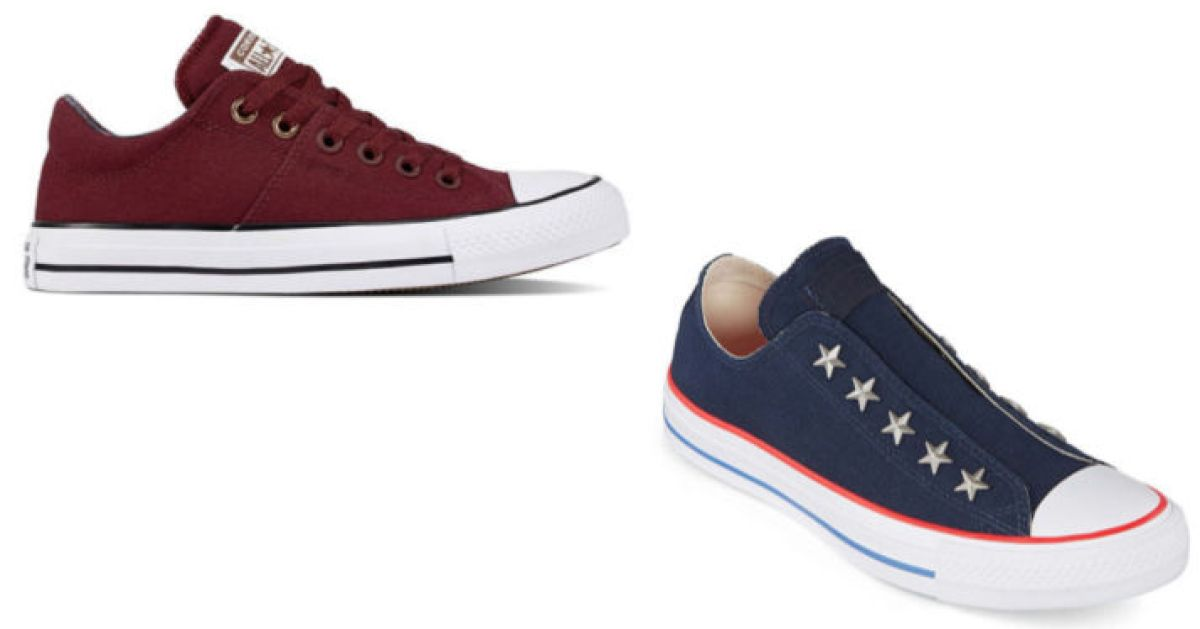 two converse shoes