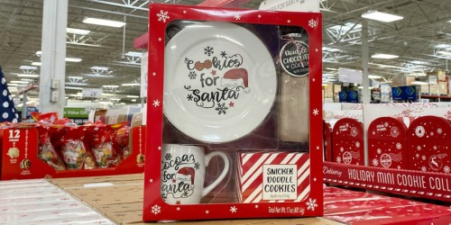 Cookies for Santa Gift Sets Only $12.98 at Sam's Club | Great Family Gift