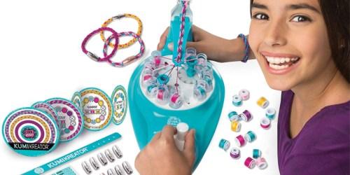 Cool Maker KumiKreator Friendship Bracelet Maker Kit Only $9.97 on Walmart.com (Regularly $30)