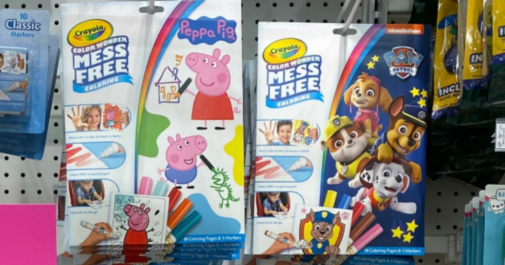 Crayola Color Wonder Mess Free Coloring Packs