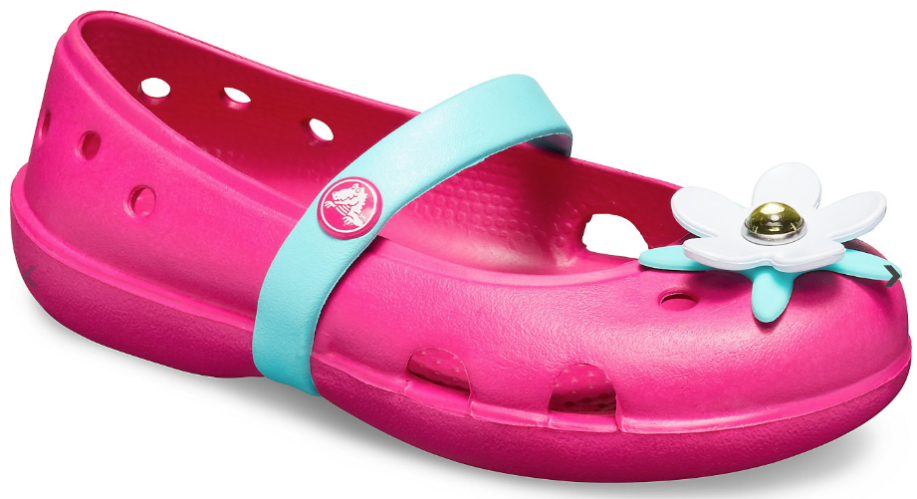 Crocs Kids' Keeley Charm Flat