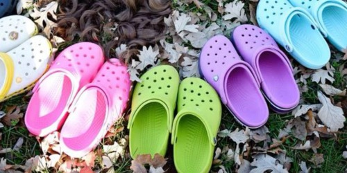Up to 75% Off Crocs for the Entire Family