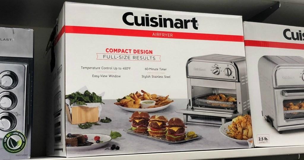 Cuisinart air fryer box on store shelf