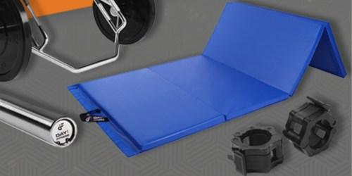 Up to 50% Off Folding Gymnastics Gym Mats at Woot!