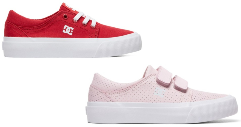 two dc kids shoes