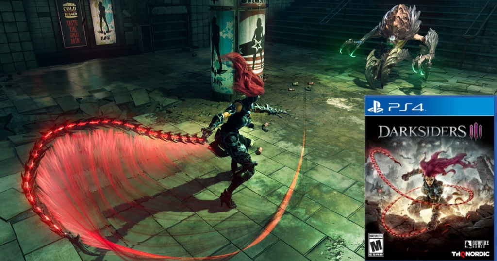 darksiders video game screen shot and game
