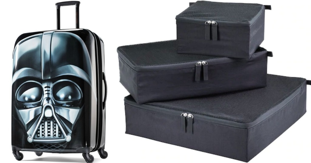 Darth Vader Suitcase and Packing Cubes