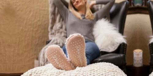 Dearfoams Socks & Slippers Only $6.72-$8 Shipped
