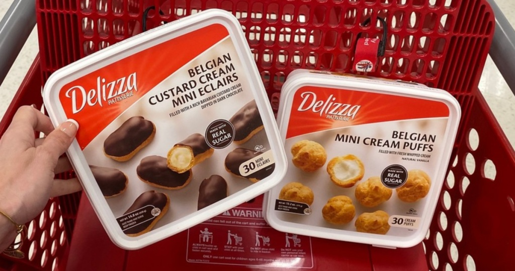 Delizza Desserts in Target Shopping Cart