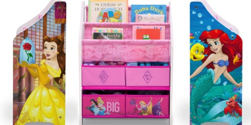 Disney Princess Book & Toy Organizer Only $19.99 at Walmart (Regularly $41)