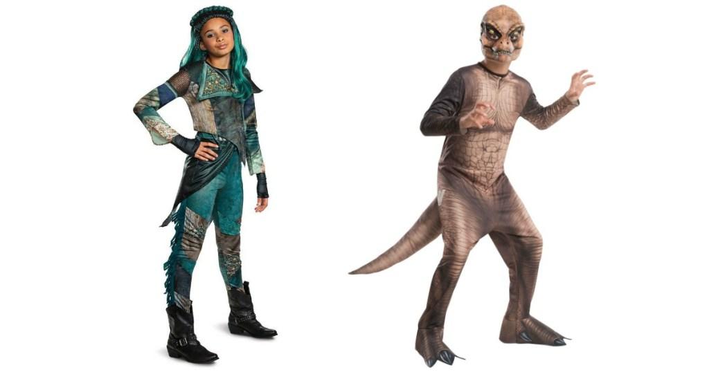 Descendants and Jurassic World Costumes
