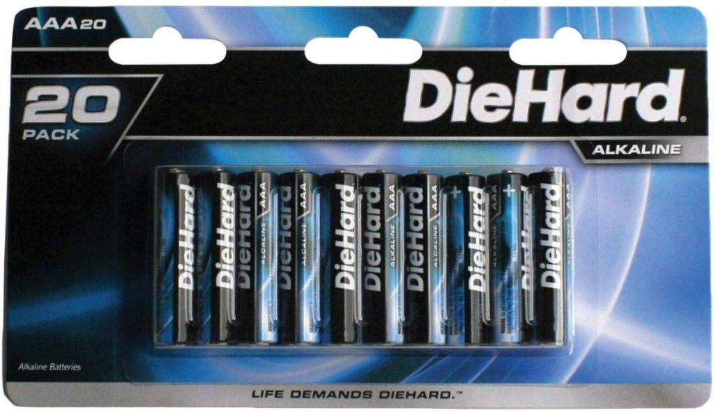 DieHard 20-Pack AAA Batteries