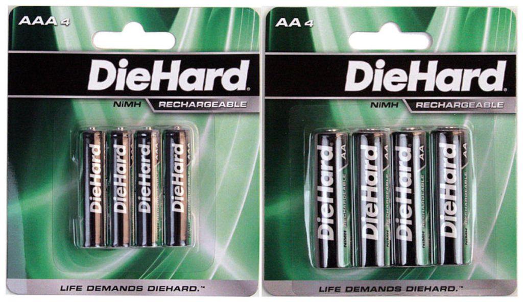 DieHard 4-Pack NiMH Batteries