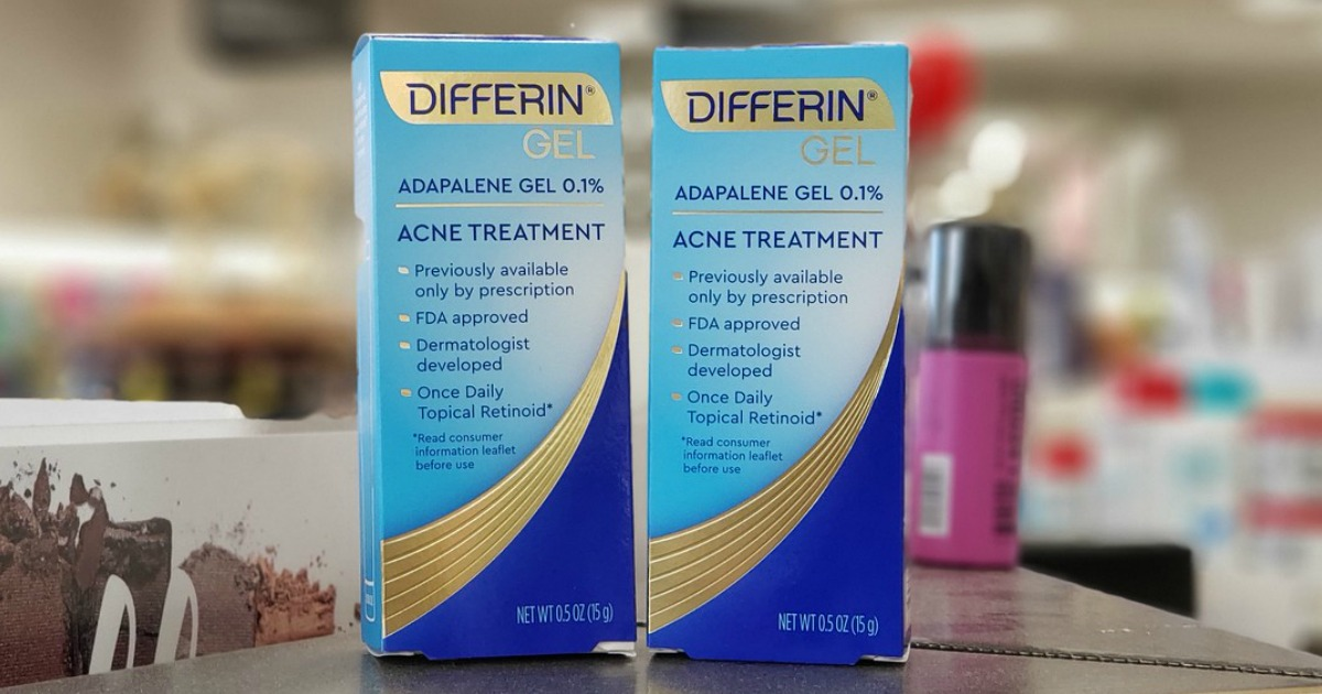 New 3 Differin Coupon Acne Treatment Gel Just 3 80 After Cash