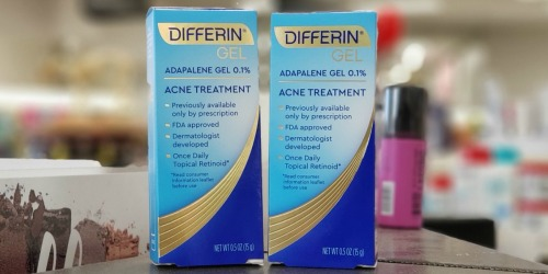 New $3 Differin Coupon = Acne Treatment Gel Just $3.80 After Cash Back at Target