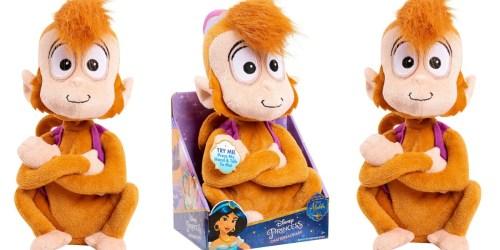 Disney Aladdin Chatterback Abu Plush Only $5 (Regularly $10)