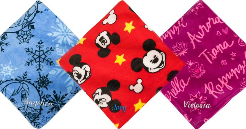 Disney Character Throw Blankets