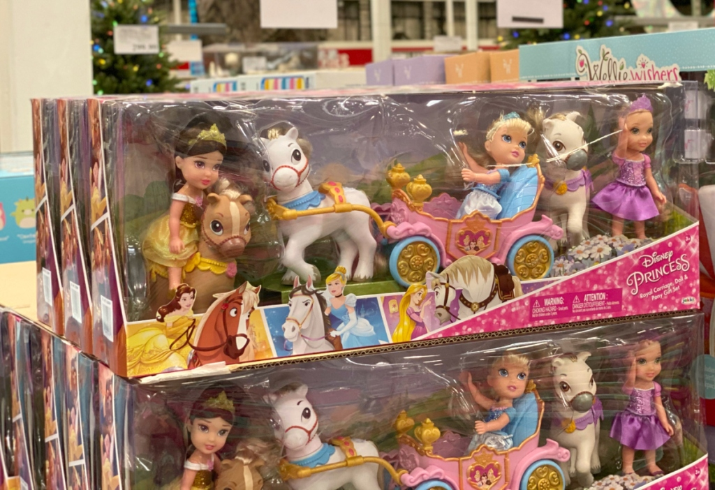 Disney Princess Royal Carriage, Doll and Pony Gift Set
