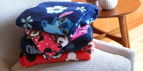 Disney Fleece Throws Only $6.40 Shipped (Regularly $20) + More