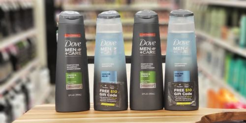 Dove Men+Care Hair Care Products Only $1.74 After Target Gift Card & Cash Back