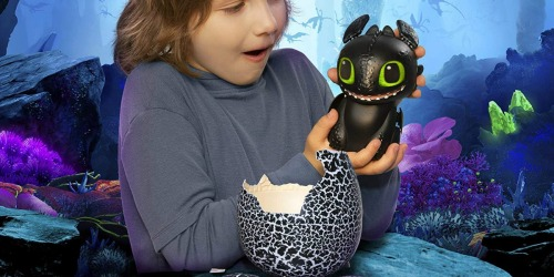 How to Train Your Dragon Toothless Interactive Hatching Dragon Just $48.88 Shipped (Regularly $60)