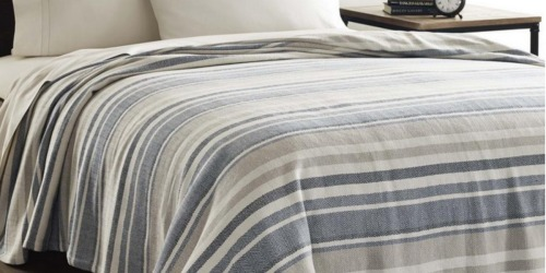 Eddie Bauer 100% Cotton Blankets as Low as $19.59 at The Home Depot (Regularly $40+)