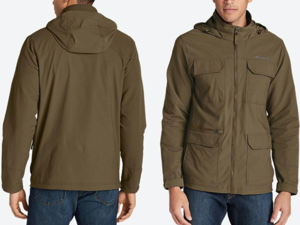 Eddie Bauer Men's Atlas Stretch Hooded Jacket