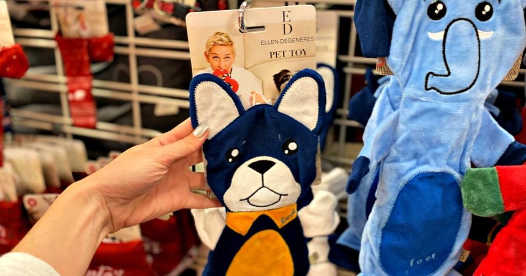 ED Ellen DeGeneres Flattie Pet Toy