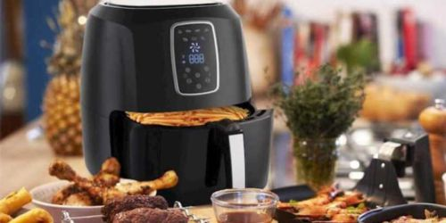 Emerald 5.2L Digital Air Fryer Just $44.99 Shipped (Regularly $140)