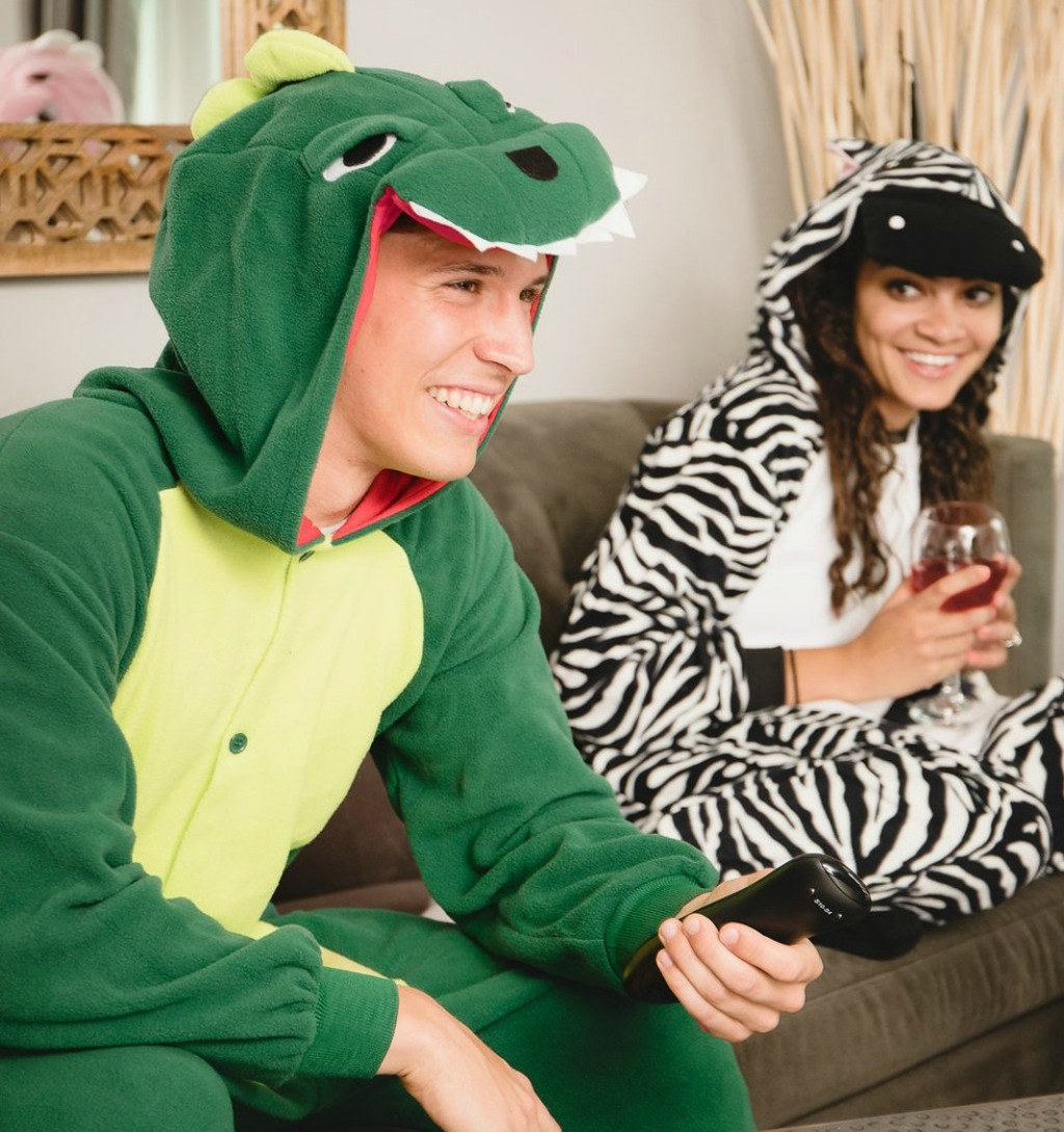 Emolly Dinosaur Pajama Onesies
