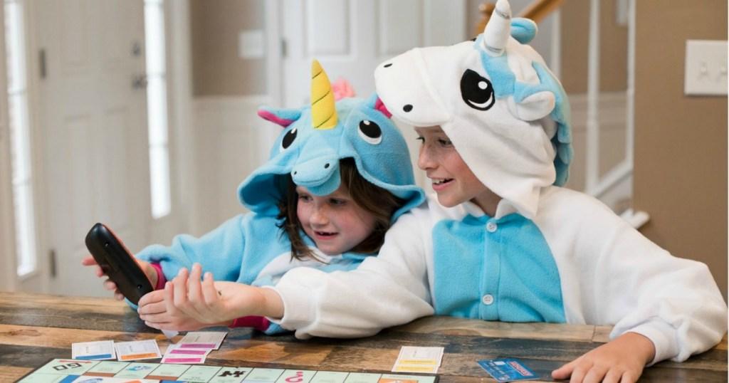 Emolly Unicorn Pajama Onesies