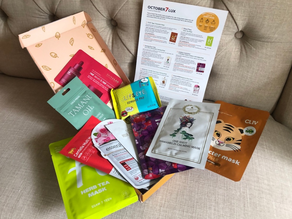 FaceTory Mask Subscription Box