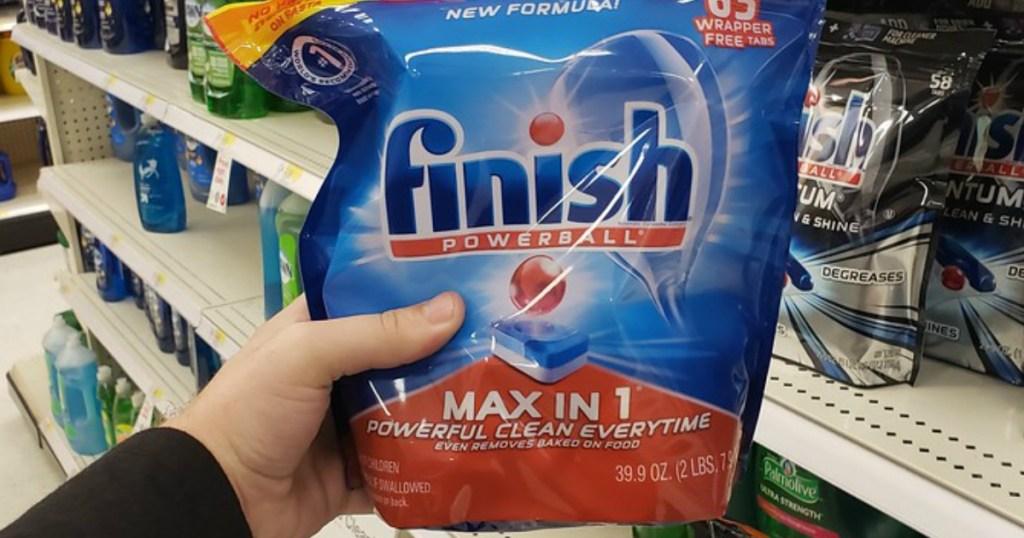 Finish Powerball Max in 1 Dishwasher Detergent