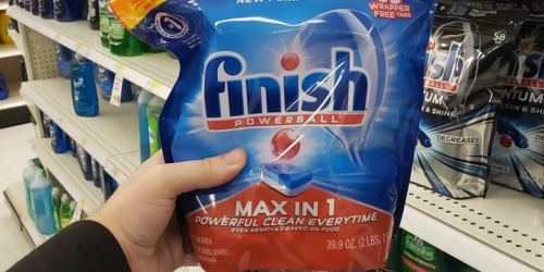 Finish Powerball Max in 1 Dishwasher Detergent 189-Count Tablets Only $18.47 Shipped at Amazon