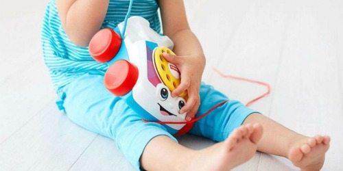 Fisher-Price Chatter Telephone as Low as $5.95 | Awesome Toddler Gift Idea