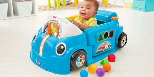Fisher-Price Laugh & Learn Crawl Around Car Only $35 Shipped (Regularly $60)