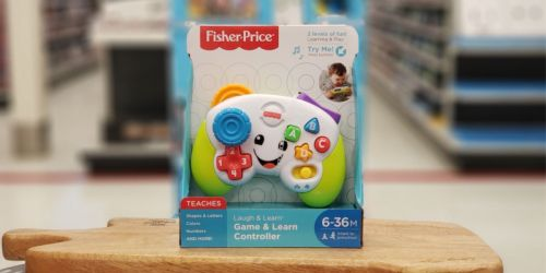 Fisher-Price Laugh & Learn Game & Learn Controller as Low as $3.74 (Regularly $10)